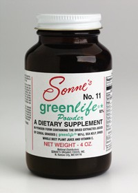 #11 GREENLIFE® POWDER ~ 4 oz.