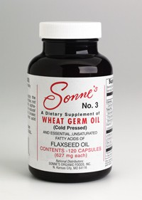 #3 WHEAT GERM OIL ~ 120 Capsules