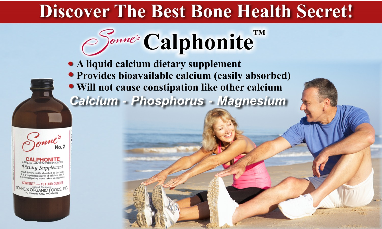CALCIUM BONE HEALTH SECRET AD