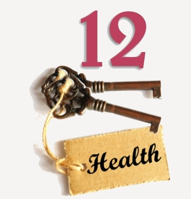 12 KEYS TO HEALTH IMAGE gray