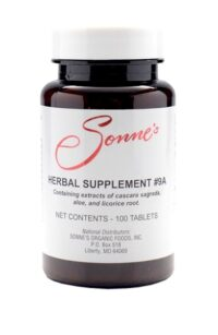 #9A HERBAL SUPPLEMENT ~ 100 Tablets
